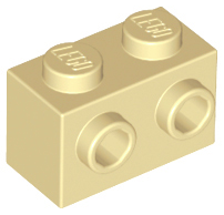 Curved Top Bricks 10x LEGO™ Modified 1 x 2 x 1 No Studs