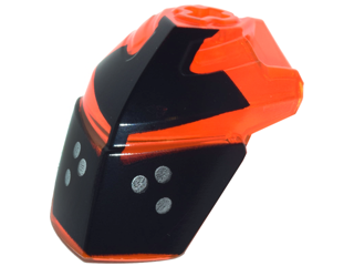 Bricklink Part 11269pb04 Lego Hero Factory Helmet Visor With