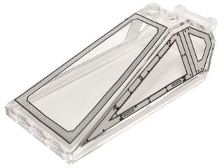 LEGO® 1x 4284 B-16 Windschutzscheibe  trans clear Windscreen 2 x 4 x 2 Inverted