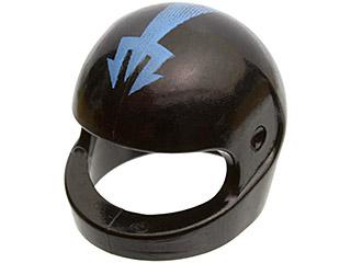 LEGO x 20 Blue Minifig Headgear Helmet Standard NEW space helmet