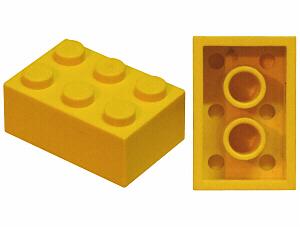 LEGO PART 3002 RED  2 x 3 BRICKS x 15
