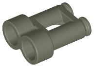Lego mini figure 1 Light Bluish Gray binoculars tool town city NEW
