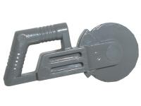 LEGO Minifigure DARK GRAY Circular Blade Saw Utensil Tool Construction