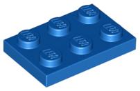 Lego ® 25x Platte gelb Bauplatte 2x3 baseplate yellow 3021