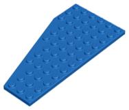 LEGO 1 X AILE plaque 30356 6x12 droit neuf gris foncé