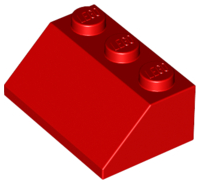 LEGO ® 50 x 3038 Dachstein 45 ° 2 x 3 ROSSO 303821 Red Slope
