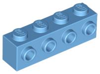 4x Brique Brick modified 1x4 4x1 4 studs 30414 Tan//Sand Lego
