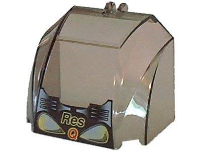 bricklink part 30633pb04 lego windscreen 4 x 6 x 4 canopy with