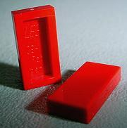 50 LEGO 1 x 2 Tiles 3069b New // Hard To Find! - Red