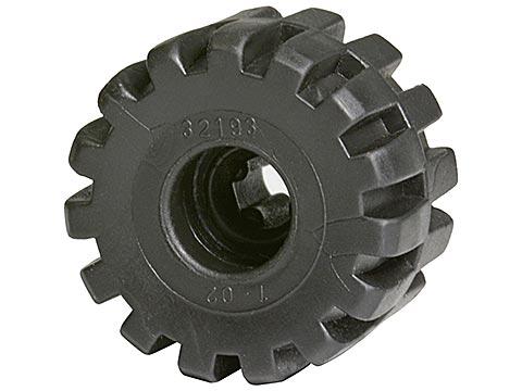BrickLink - Part 32193 : Lego Wheel Full Rubber Flat with Axle hole [Wheel]  - BrickLink Reference Catalog