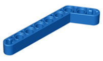 LEGO PART 32271 TECHNIC LIFT ARM 1 X 9 BENT THICK BLACK X3 PCS