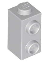 Lego 50 New Reddish Brown Bricks Modified 1 x 1 x 1 2//3 with Studs on 1 Side