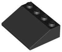 10 NEW LEGO Slope 33 3 x 4 Black
