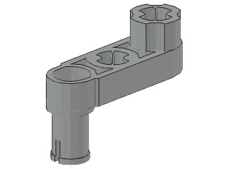 Liftarme 1 x 3 with 2 Axle Holes #33299 10 x LEGO Technic