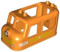 1x Lego Duplo LKW Anhänger weiß 4x8 Auflieger für Feuerwehr Truck Set 5682 59135