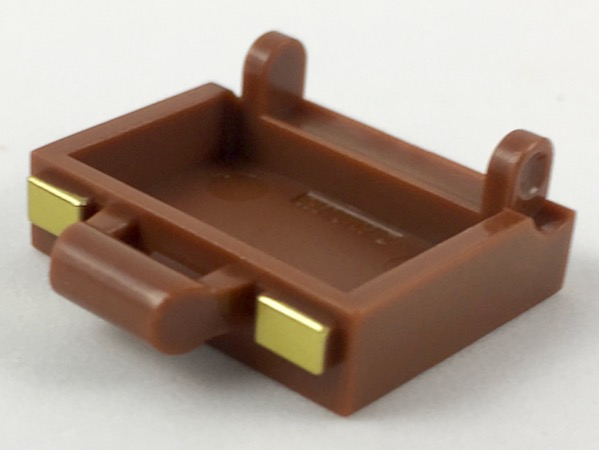 be1199d20 BrickLink - Part 37702pb01 : Lego Minifigure, Utensil Suitcase Base with  Gold Clasps Pattern [Minifigure, Utensil, Decorated] - BrickLink Reference  Catalog
