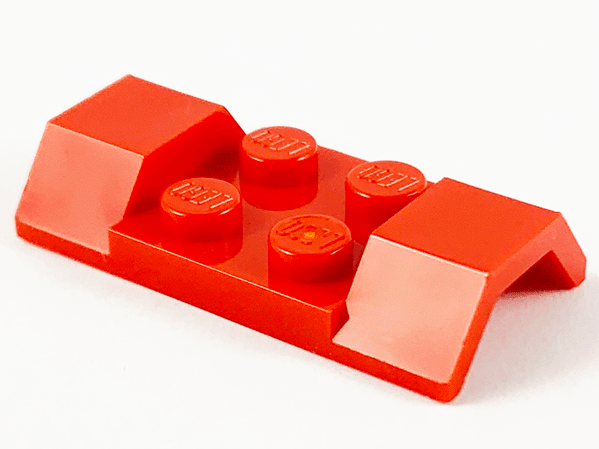 Vehicle Mudguard 2x4 Arch Smooth 3787 Choose Color /& Quantity Lego