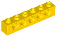 Lego 3894 red technic brick lot 4 beam 1x6 hole brick holes red