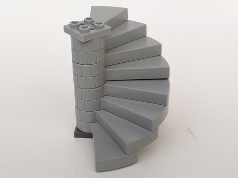 Stairs Spiral Step Marches 40243 Choose Color /& Quantity Lego
