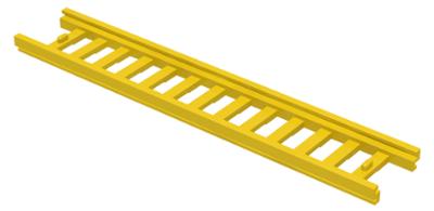 LEGO Leiter Schiebeleiter rotbraun Reddish Brown Ladder 14x2.5 4207