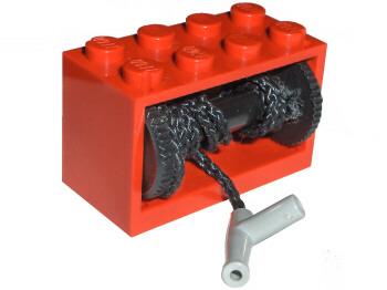 Z # Lego Hose 1x19 Orange 2 Piece x1796