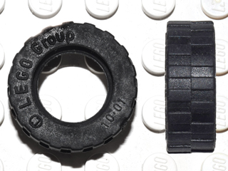 BrickLink - Part 42611 : Lego Tire 17.5mm D. x 6mm with Shallow Staggered  Treads [Tire & Tread] - BrickLink Reference Catalog
