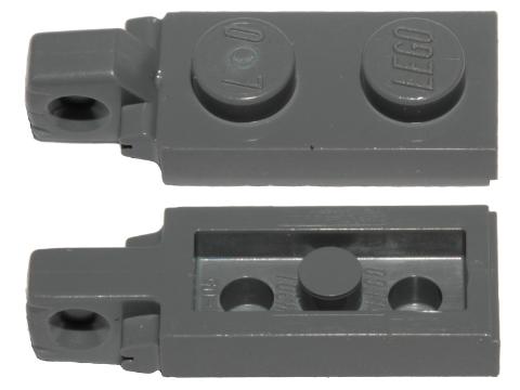 44301 /& 44302 LEGO Parts~3 Sets  Hinge Plate 1 x 2 ~WHITE