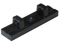Lego 5 New Black Hinge Tile Pieces 1 x 3 Locking with 1 Finger on Top