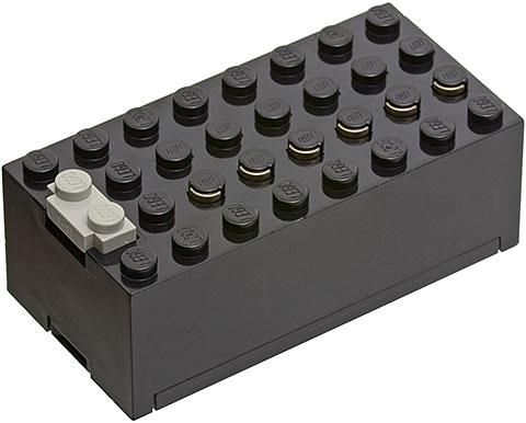 1 x Lego Technic Electric Battery Box New-Light Grey 9V Batteriebox BASE NEW-D