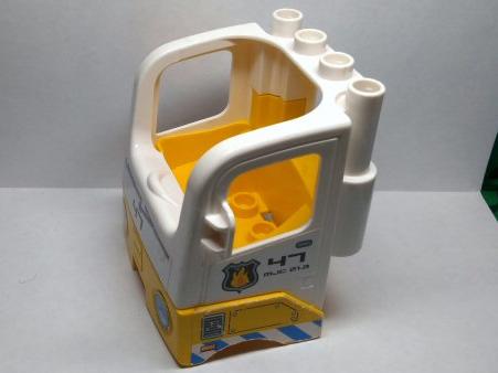 Lego Duplo Truck /& Base Blue w// gray