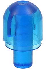 Lego 58176-4x globe//light cover with bar-trans medium blue-new new