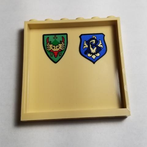 Bricklink Part 59349pb190 Lego Panel 1 X 6 X 5 With Coat Of Arms Durmstrang Stag And Beauxbatons Crest Pattern On Inside Stickers Set 75946 Panel Decorated Bricklink Reference Catalog Durmstrang 11 büyücülük okulunun en karanlık ününe durmstrang tarihinin ikinci karanlık dönemi müdür i̇gor karkaroff (eski ölüm yiyen) ihanetine karşı. lego panel 1 x 6 x 5 with coat of arms