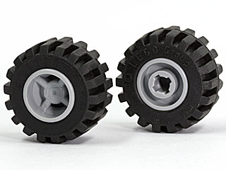 500g-Pack-Car-Parts Lego ® X 12mm 6014c01 Wheel 11mm D