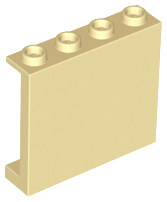 BrickLink - Part 60581 : Lego Panel 1 x 4 x 3 with Side Supports ...