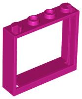 bricklink part lego window 1 x 4 x 3 no shutter tabs window bricklink reference catalog