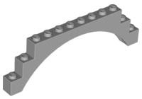 4 1x3 Light Gray Brick w// Center Arch Bricks ~ Lego  ~ NEW ~