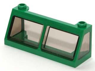 *NEW* 10 Pieces Lego Windshield Windscreen 2x6x2 TRANS BLACK