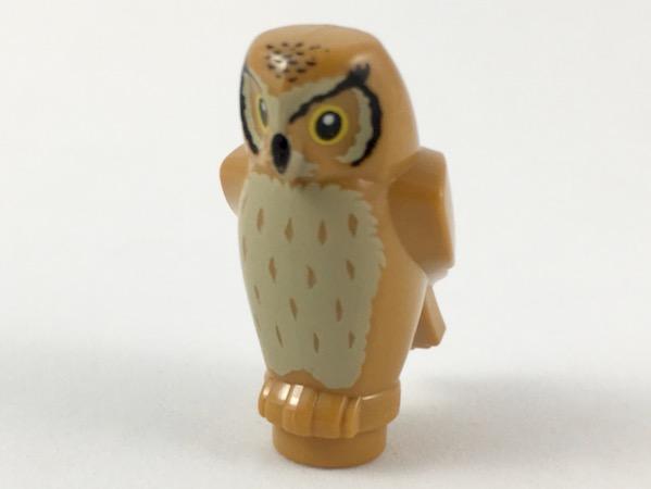 Lego Animal GMT14 1 x Black and 3 x White 40232 4 x Owl