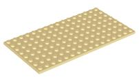Lego 92438 plaque 8x16