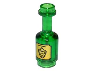 Lego NEW Black Minifigure Bottle
