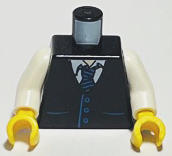 Lego 50 New Light Bluish Arms Minifigure Arms and Yellow Hands City Town Pieces