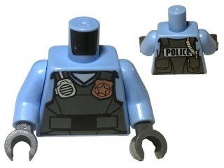 BrickLink - Part 973pb2162c01 : Lego Torso Police Shirt with