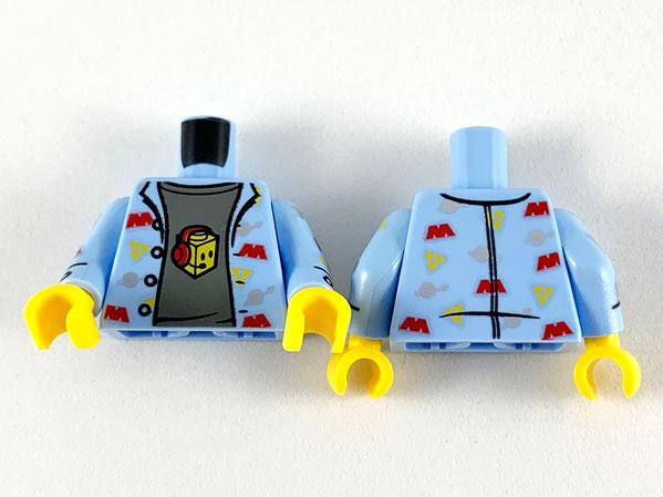 LEGO LIGHT GREY HAND FOR MINIFIGURE X 4