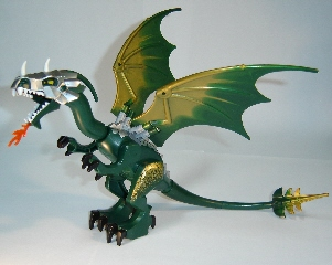 Bricklink Part Dragon03 Lego Dragon Fantasy Era With Dark Green Head With Armor Animal Air Bricklink Reference Catalog Several versions of the dragon have been released since its debut. lego dragon fantasy era
