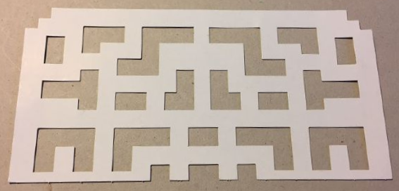 BrickLink - Part template01 : Lego Paper, Cardboard Labyrinth ...
