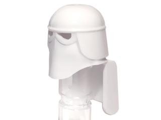 Lego Minifigure Headgear Helmet SW Snowtrooper with Black Eye