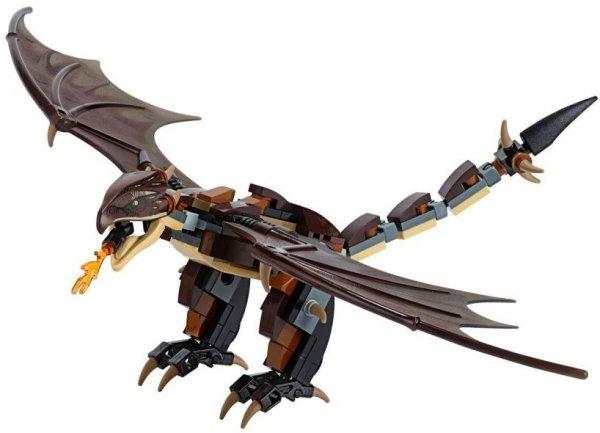 Figurka LEGO Maďarský trnoocasý drak zepředu