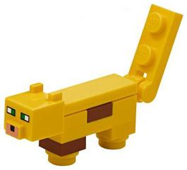 Figurka LEGO Ocelot z kostek zepředu
