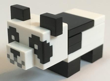 Figurka LEGO Panda malá zepředu