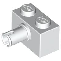 *NEW* 10 Pieces Lego BRICK MODIFIED 1X2 BLUISH DARK GRAY with Pin 2458